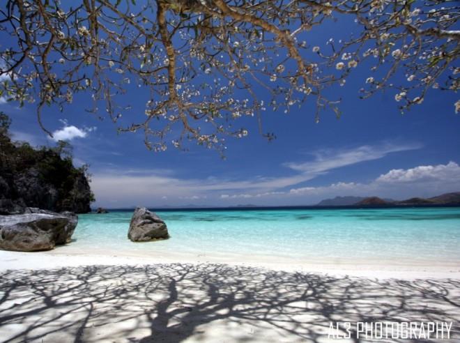 Banol Beach on the Ancestral Domain of the Tagbanua tribes, Coron, Palawan, Philippines